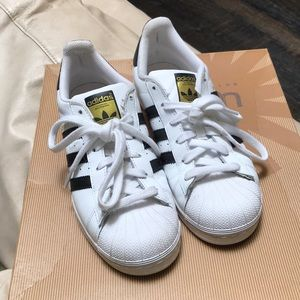 Adidas Superstar 7 black and white leather